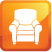 furniture cleaning and upholstery cleaning and restoration icon